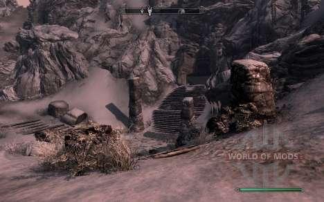 Las armas y armaduras de dragón Caballero de dot para Skyrim segunda pantalla