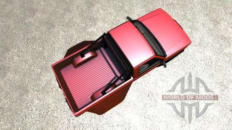 Gavril D-Series Dually 2 para BeamNG Drive