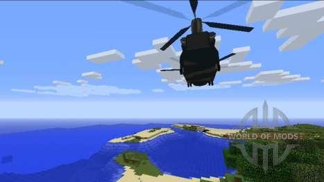 Helicópteros para Minecraft