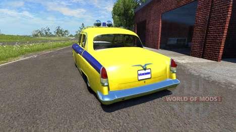 GAZ-21 Volga GAI para BeamNG Drive