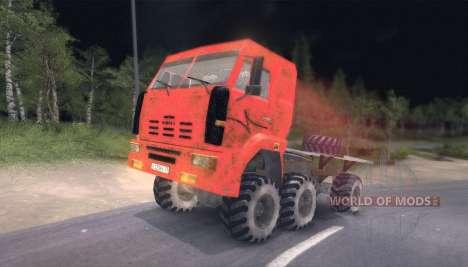 Pak camiones v9.0 para Spin Tires