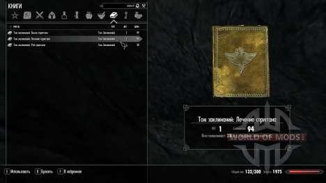 La magia de spriggan para el cuarto Skyrim pantalla