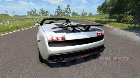 Lamborghini Gallardo LP570-4 Spyder Performante para BeamNG Drive