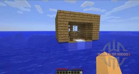 Flotante de barcos para Minecraft