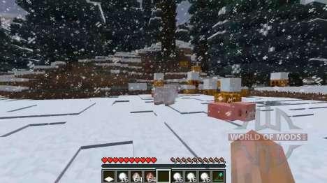 La nieve profunda para Minecraft
