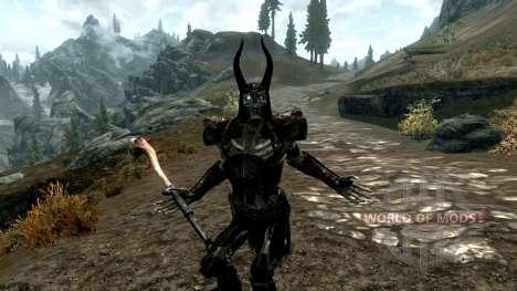 Tormenta de dragones y Grabitel escalas para Skyrim