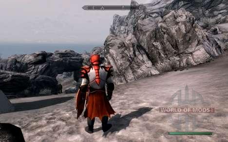 Las armas y armaduras de dragón Caballero de dot para Skyrim