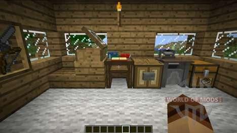 Nuevas estanterías para Minecraft