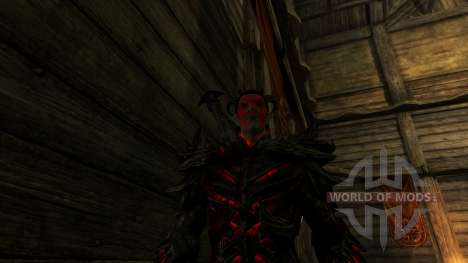 Satélite Dremora para el tercer Skyrim pantalla
