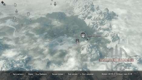 La magia de spriggan para Skyrim segunda pantalla