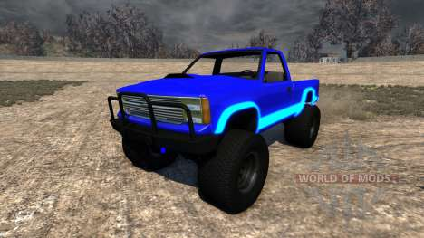 Gavril D-Series Neon Monster para BeamNG Drive