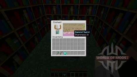 Visible zacharovana para Minecraft