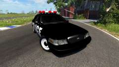 Ford Crown Victoria Police Interceptor para BeamNG Drive