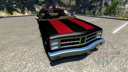 Bruckell Moonhawk The Fast and the Furious para BeamNG Drive