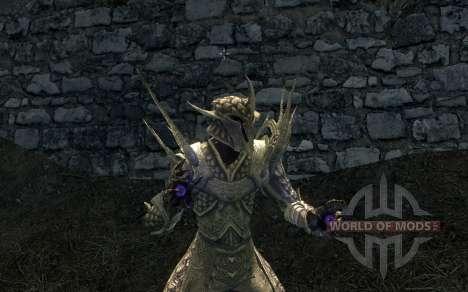 Las armas y armaduras de la moda de Regalo De Ky para el tercer Skyrim pantalla