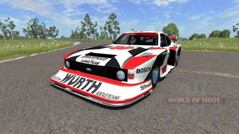 Ford Capri Zakspeed Turbo Group 5 para BeamNG Drive