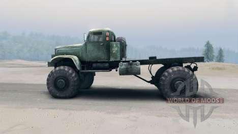 Kraz-255B para Spin Tires