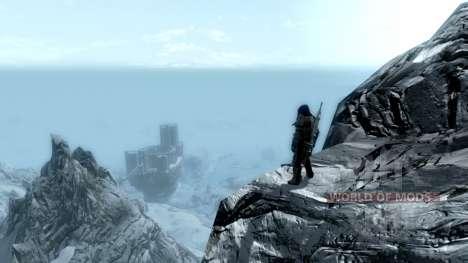 Llevar antiguos rollos para Skyrim segunda pantalla