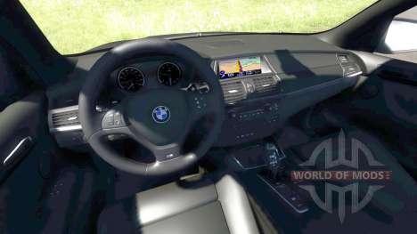 BMW X5M Blue para BeamNG Drive