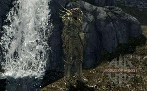 Las armas y armaduras de la moda de Regalo De Ky para Skyrim segunda pantalla