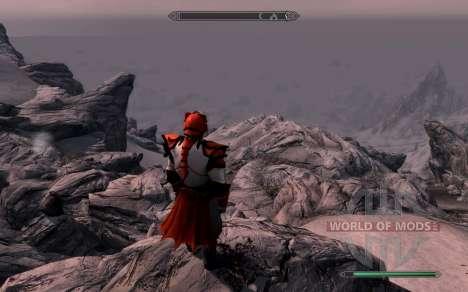 Las armas y armaduras de dragón Caballero de dot para Skyrim sexta pantalla