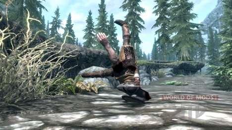 Mace tiro para el tercer Skyrim pantalla