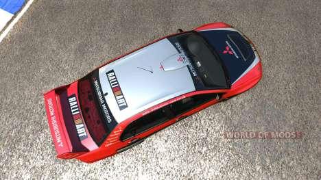 Mitsubishi Lancer Evolution IX 2006 para BeamNG Drive