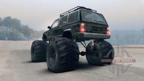 Jeep Grand Cherokee Monster para Spin Tires