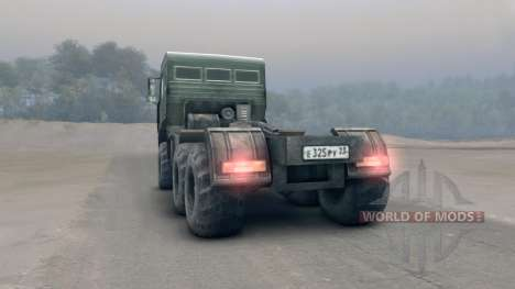 KamAZ-65116 v2.0 para Spin Tires