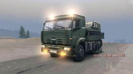 KamAZ-65117 para Spin Tires