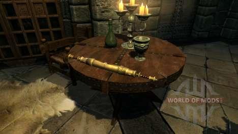 Llevar antiguos rollos para el cuarto Skyrim pantalla