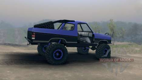 Dodge Ramcharger trail para Spin Tires