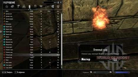 Fuego y escarcha huelgas para Skyrim