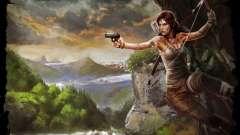 La ropa y las armas de Lara Croft