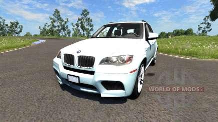 BMW X5M White para BeamNG Drive