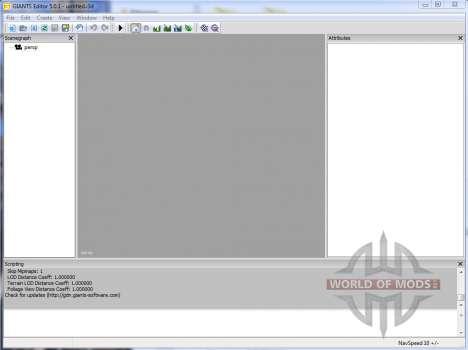 GIANTS Editor v5.0.1 para Farming Simulator 2013