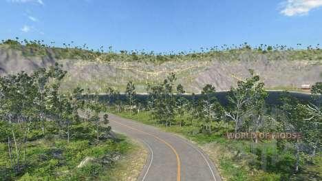 Ubicación-Montaña - 0.2.0 para BeamNG Drive