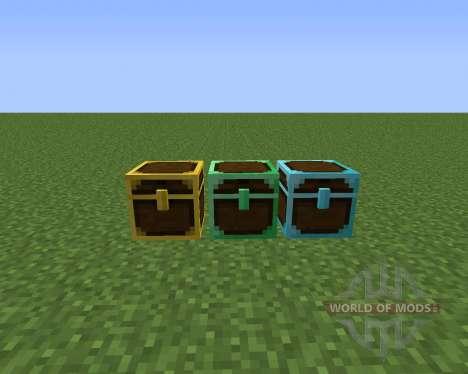 Better Storage Mod para Minecraft