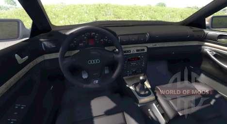 Audi S4 2000 [Pantone Red 032 C] para BeamNG Drive