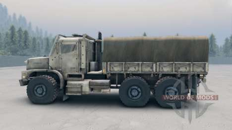 Oshkosh MTVR MK23 wheels v1 para Spin Tires