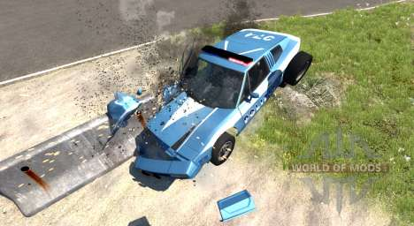 Civetta Bolide Police Interceptor para BeamNG Drive
