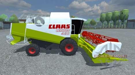 CLAAS Lexion 420 para Farming Simulator 2013