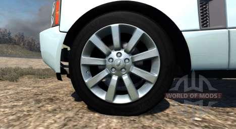 Range Rover Supercharged 2008 [White] para BeamNG Drive