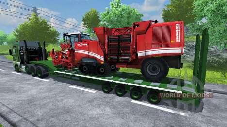 Semi-remolque MAN TGA para Farming Simulator 2013