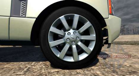 Range Rover Supercharged 2008 [Beige] para BeamNG Drive
