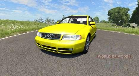 Audi S4 2000 [Pantone Yellow 012 C] para BeamNG Drive