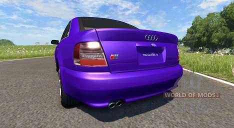 Audi S4 2000 [Pantone Violet C] para BeamNG Drive