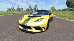 Lotus Evora GTE 2011 [Yellow] para BeamNG Drive