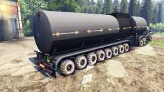 Pak autotrailers para Spin Tires
