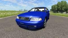 Audi S4 2000 [Pantone Reflex Blue C] para BeamNG Drive